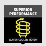 קירור מים על המנוע של מכונות השטיפה Karcher K4, Karcher K5, Karcher K5 Compact, Karcher K7